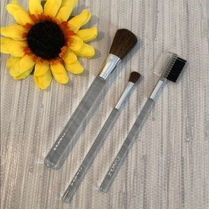 Makeup brush set (3 pcs)
